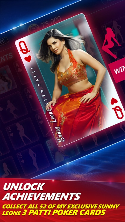 Teen Patti PartyPoker with Sunny Leone