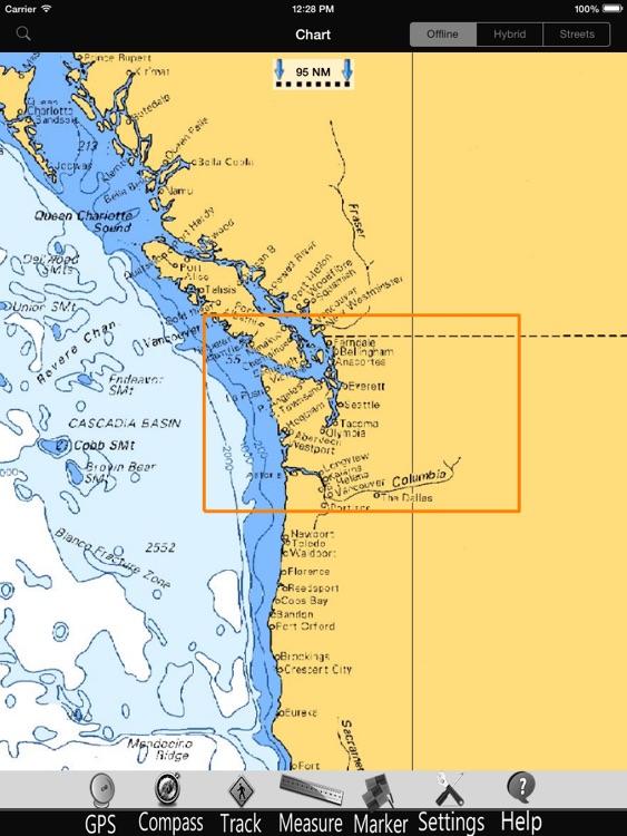 Washington Nautical Charts Pro screenshot-3