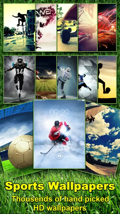 American Sports Wallpapers & Backgrounds HD - Retina Themes of Football, Basketball & More!