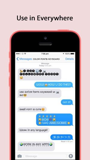 Color Fonts Keyboard Pro ∞ Keyboards with Cool Font & Emoji for iPhone