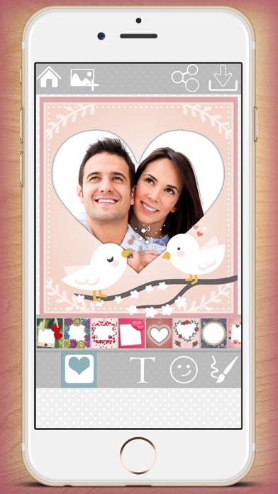 Editor de fotos de amor – fotomontajes para imágenes románticasCaptura de pantalla de1