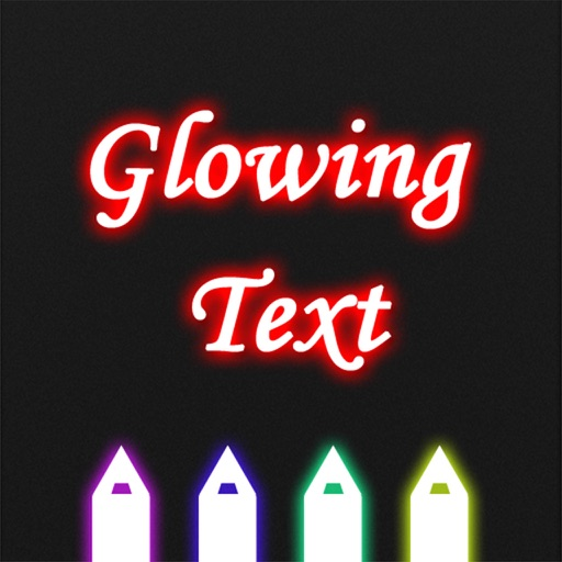 Glowing Text icon
