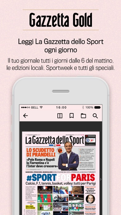 Gazzetta Gold review screenshots