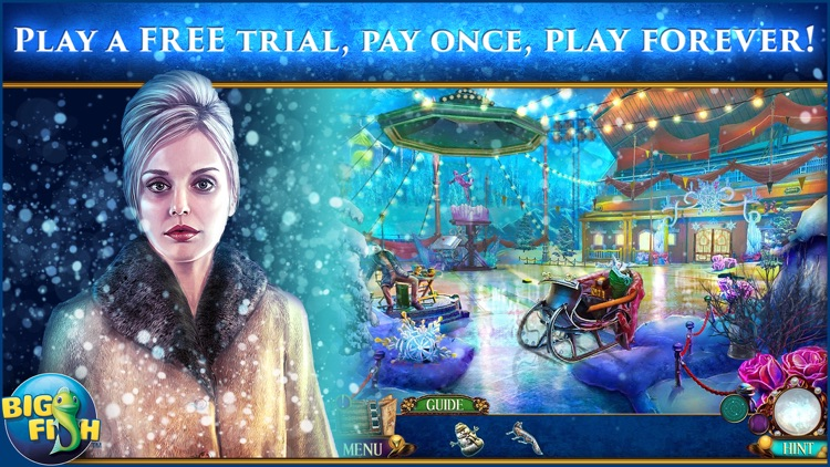 Danse Macabre: Thin Ice - A Mystery Hidden Object Game screenshot-0