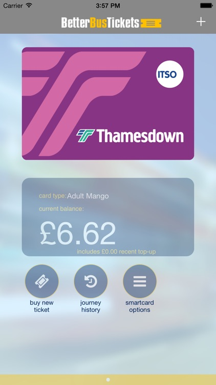 Better Bus Tickets Smartcard Manager
