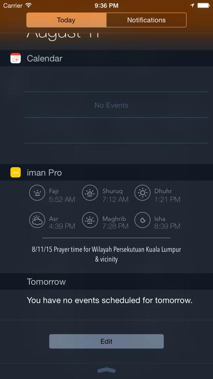 iman Pro. screenshot-4