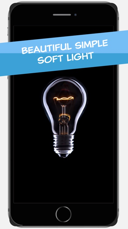 Soft Light - Book Light or Nightlight on your Nightstand with a Lightbulb