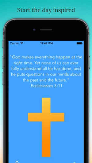 Wake Up To Christ: A Christian-Themed Alarm Clock w/ Daily