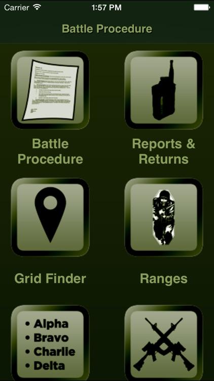 Battle Procedure Aide Memoire screenshot-0