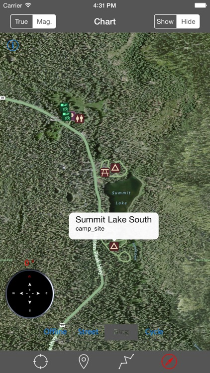 Lassen Volcanic National Park – GPS Offline Park Map Navigator screenshot-2