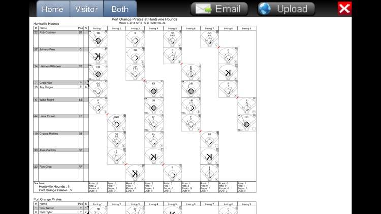 Fixed It! Baseball ScoreBook - Lite