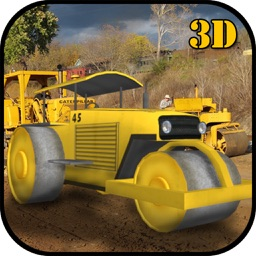 City Road Roller Construction