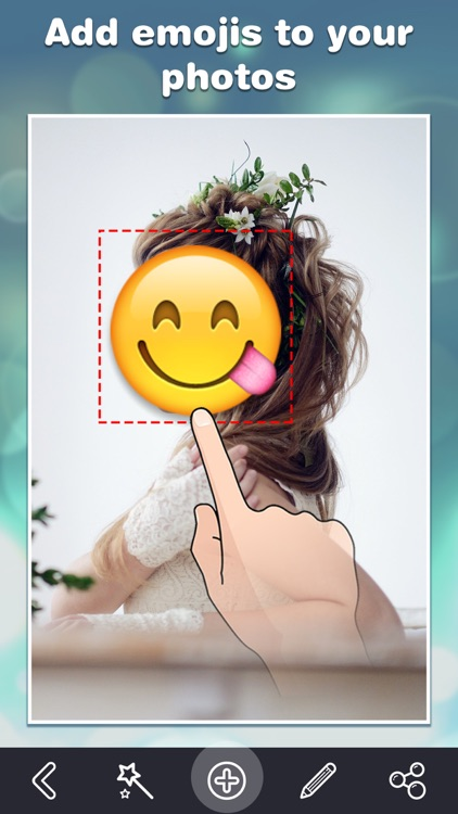 Emoji.s Photo Editor - Add Funny Cool Emoticon Sticker.s & Smiley Face.s to Your Picture screenshot-3