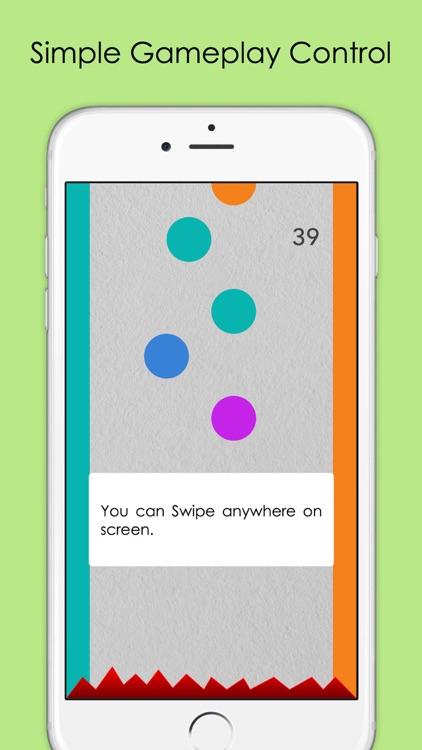 Color Dots - Crazy Falling Dots screenshot-3