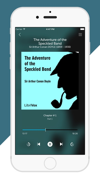 Audiobooks from Librivox - FREE 10,000+ Audio Books mp3 screenshot-4