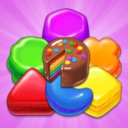 Cookie Crush Jelly Legend : The Sweetest Match-3 Game