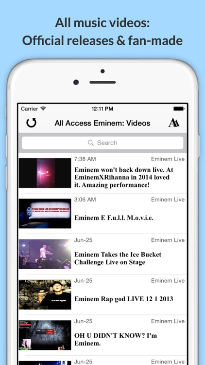 All Access: Eminem Edition - Music, Videos, Social, Photos, News & More!
