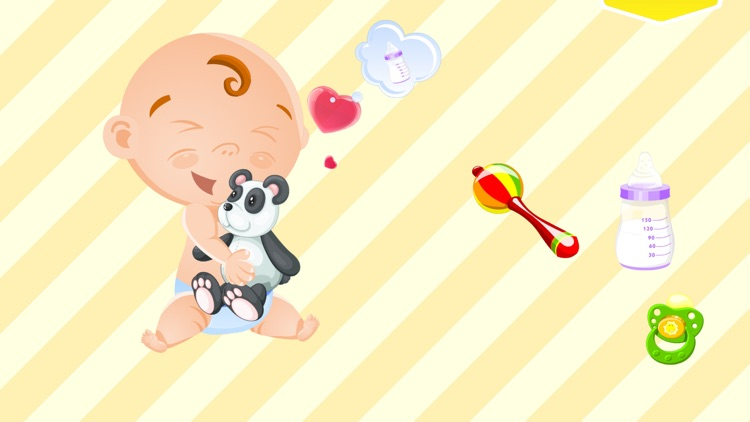 My Baby Friend Free - cute and funny tickling game screenshot-0