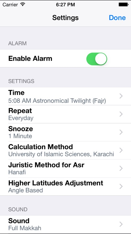 Alarm Clock for Muslims with Full Azan (منبه المسلم - لقرآن الكريم - أذان - أوقات الصلاة)
