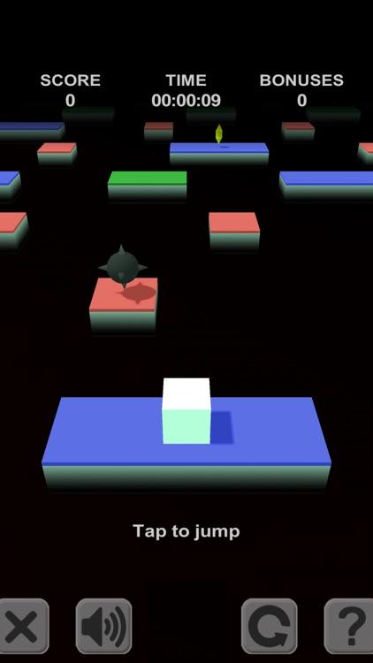 Cube Jump. 3D platforms