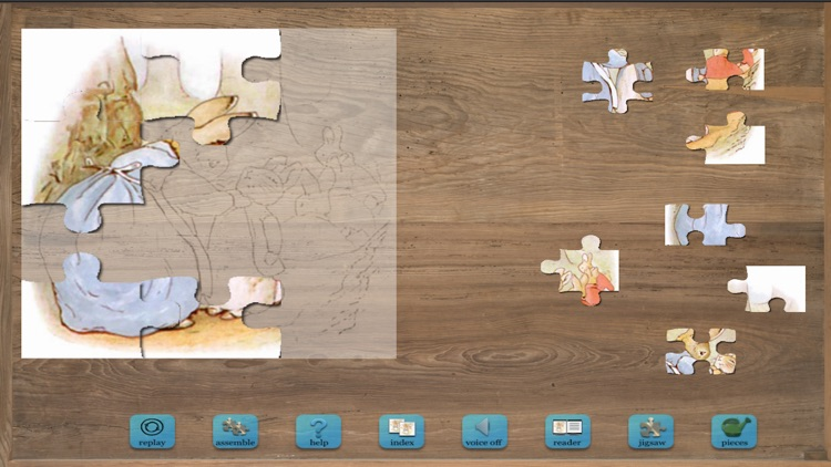 Peter Rabbit Jigsaw Puzzles screenshot-0