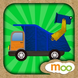 Car and Truck - Puzzles, Games, Coloring Activities for Kids and Toddlers by Moo Moo Lab