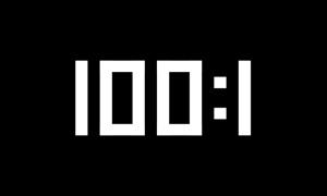 100:1