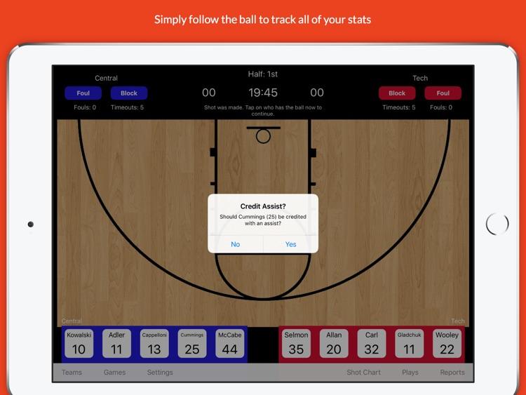 StatGeek Basketball screenshot-3