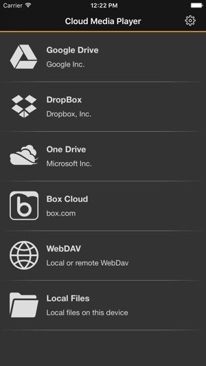 Cloud Media Player on the App Store