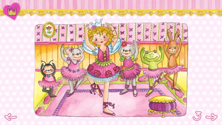 Prinzessin Lillifee Ballettzauber - Bildergeschichte, Tanzspiel, Stickerzauber screenshot-3