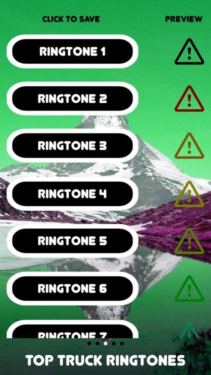 Free Top Truck Ringtones