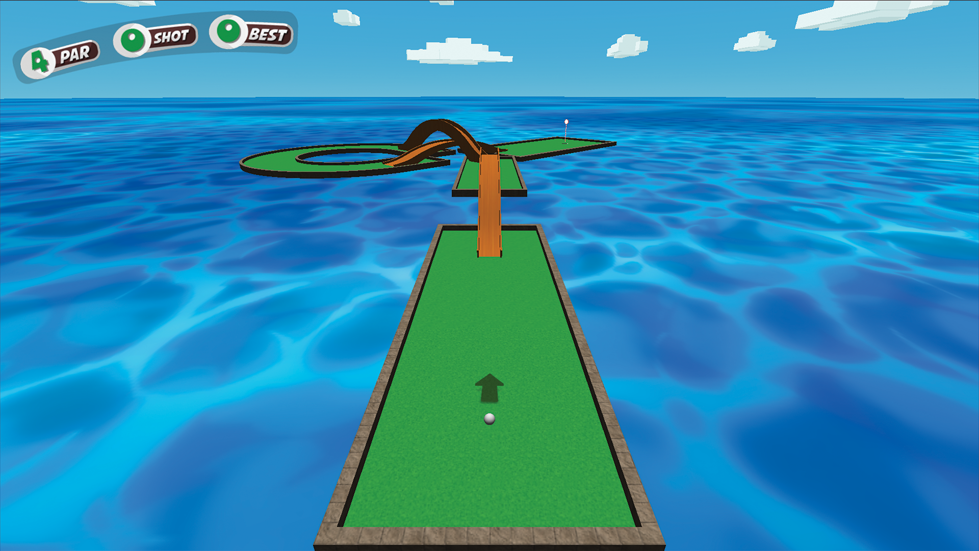 Mini Golf Star Retro Golf Game screenshot 11