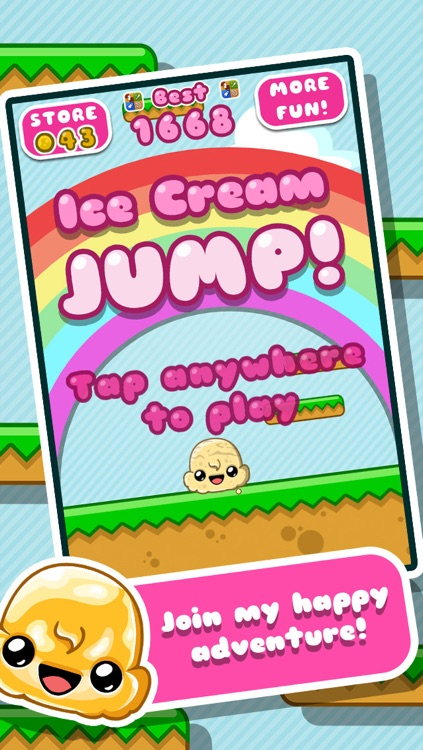 Ice Cream Jump screenshot-0
