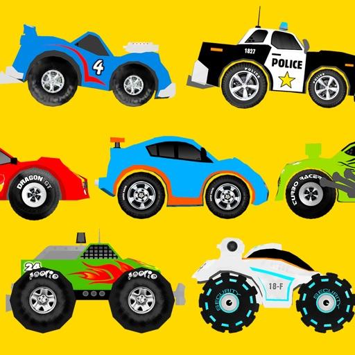くねくねドライブ 車で遊ぼう 4歳〜向け 無料ゲームアプリ