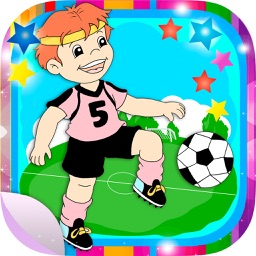 Football Stickers and soccer adhesives for photos