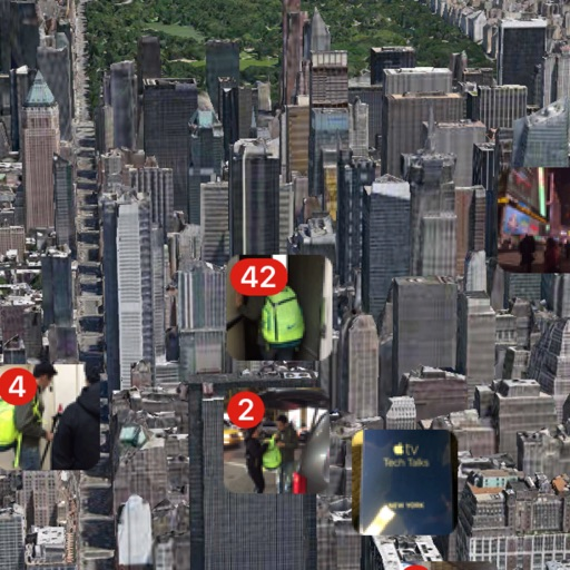 Photo Map 3D Free - 3D Cities View
