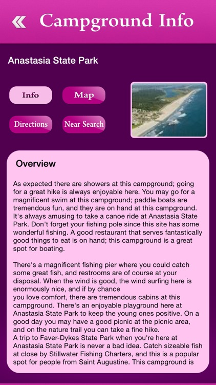 Florida Campgrounds and RV Parks