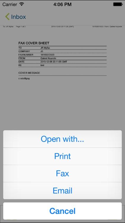 MyFax – Receive & Send a Fax screenshot-3