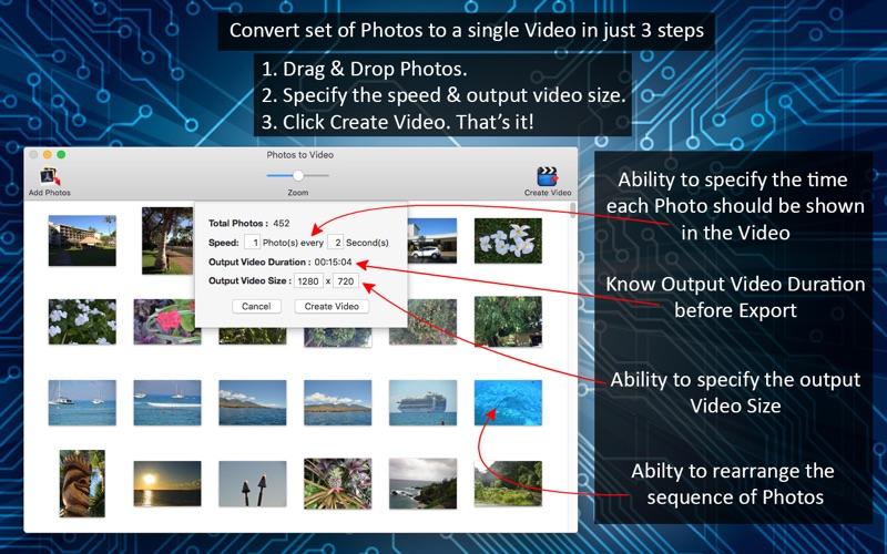 Photos to Video Screenshot