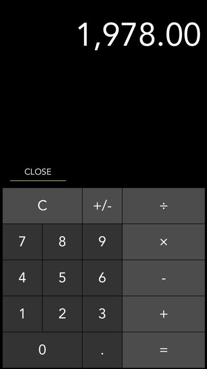 iMargin - Cost, Markup, Margin + Tax Calculator screenshot-3