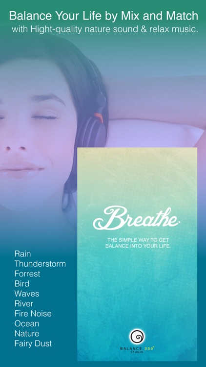 Breathe Get Energy & Depression Help By Calming Music, Sounds mixer