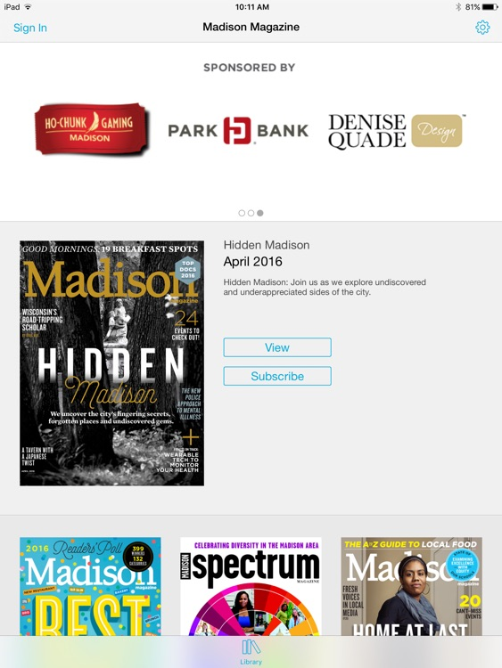 Madison Magazine