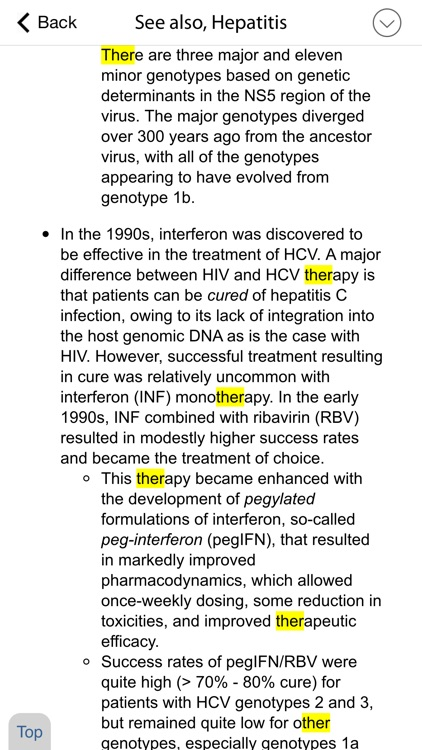 Sanford Guide - Hepatitis screenshot-3