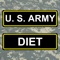 Army Diet Tool with rules applied in U