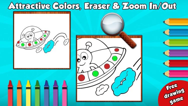 Kids Coloring Book Free screenshot-3