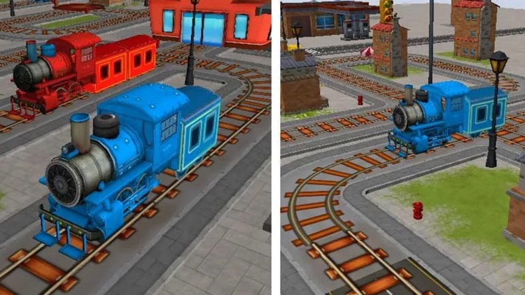 Tricky Train Free screenshot-0