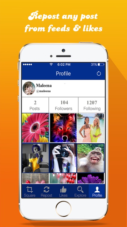 Regram- Repost App For Pics Videos & Regrann Fast on Instagram screenshot-3