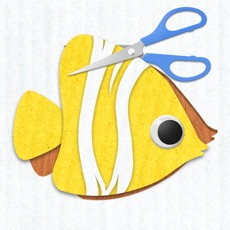 Activities of Labo Paper Fish - Make fish crafts with paper and play creative marine games