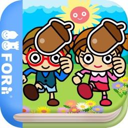 Acorn Boy (FREE)  - Jajajajan Kids Song & Coloring picture book series