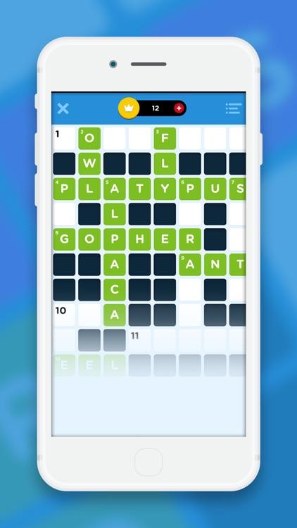 Crossword Quiz+ screenshot-0